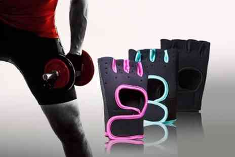 Groupon Goods Global GmbH - Fitness Training Gloves in Choice of Colour - Save 69%