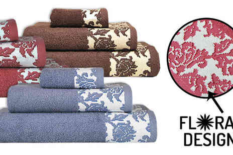 Karpe Deal - Three Piece Luxury Towel Set Available in Three Colours - Save 8%