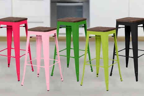 ohmy deal - Industrial Stool Five Colours - Save 57%