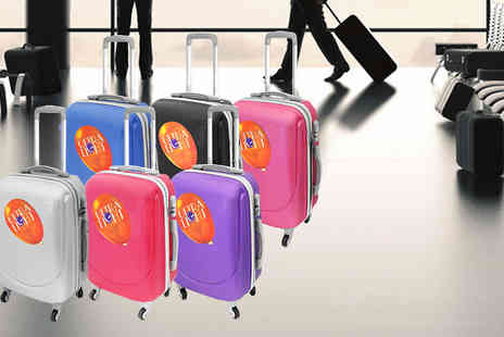 Mscomputers - Hard Shell Lightweight Suitcase Six Colours - Save 70%