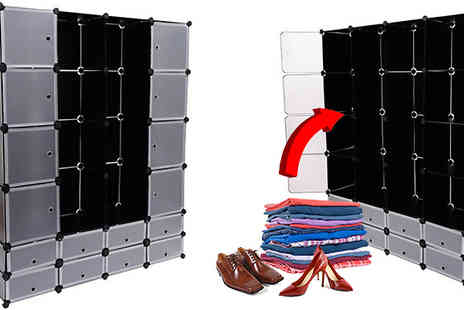 MHSTAR - Stackable Compartment Storage Cubes  6, 12 or 16 - Save 0%