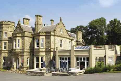 Hollin Hall Hotel - Afternoon Tea for 2 at Countryside Hotel - Save 43%