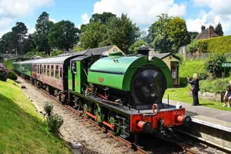 Spa Valley Railway - Return Scenic Railway Trip for 2 Adults - Save 50%