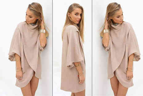 The Wholesale Group - Kimono style sweater dress - Save 75%