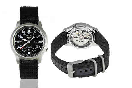 Idealdeal - Mens Seiko automatic watch - Save 47%