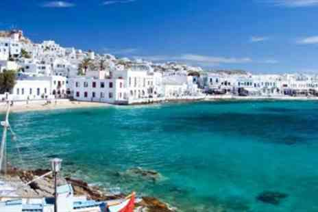 Inspired Luxury Escapes - Mykonos Luxury 5 Star Week with Meals & Room Upgrade - Save 0%