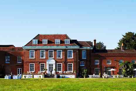 Stoke Place Hotel - Bucks Manor Stay with Dinner & Prosecco - Save 0%
