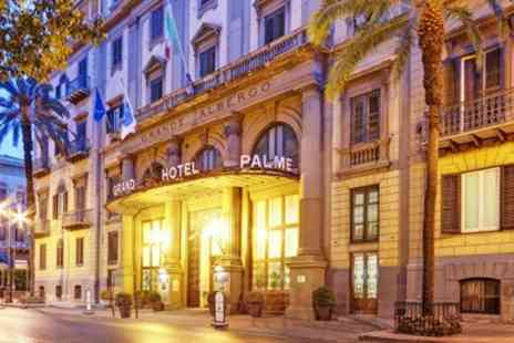 Grand Hotel Et Des Palmes - Sicily Palermo Hotel Stay with Breakfast - Save 0%