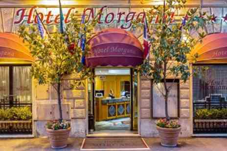 Hotel Morgana - Central Rome Stay with Breakfast & Wine - Save 0%