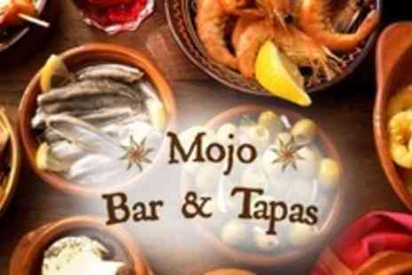 Mojo Bar and Tapas - Tapas For Four With Dessert and Glass of Wine Each - Save 63%