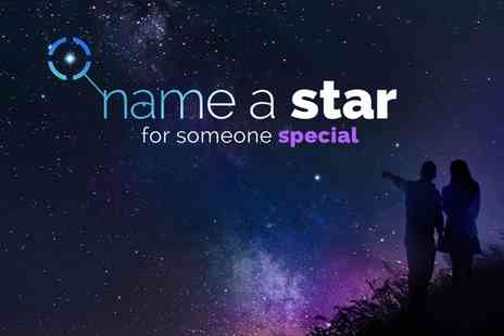 Star Listings - Personalised Name a Star Gift Sets, Including PDF Version with Text Message - Save 52%