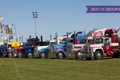 Truckfest North West - One day ticket to Truckfest North West for a child, adult or a family of four on 16 To 17 September - Save 0%