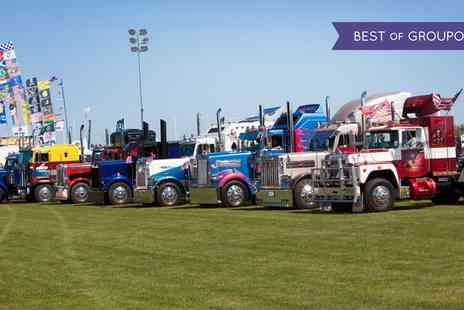 Truckfest Newark - Truckfest Newark Day Ticket for a Child, Adult or a Family on 15 To 16 July - Save 0%