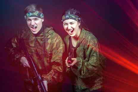 Shoreline Outdoor - Outdoor Laser Tag or Nerf Wars for 10 - Save 0%