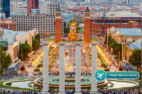 Weekender Breaks - Two night 4 Star Barcelona spa holiday including flights and tour - Save 31%