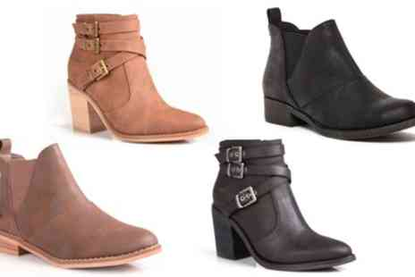 Groupon Goods Global GmbH - Rocket Dog Castelo or Deon Ankle Boots - Save 0%