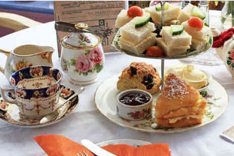 Heaven is Homemade - Afternoon tea for two people - Save 45%