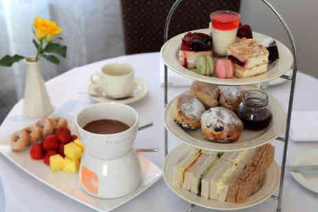 Best Western Grosvenor Hotel - Sparkling afternoon tea for two with chocolate fondue - Save 42%