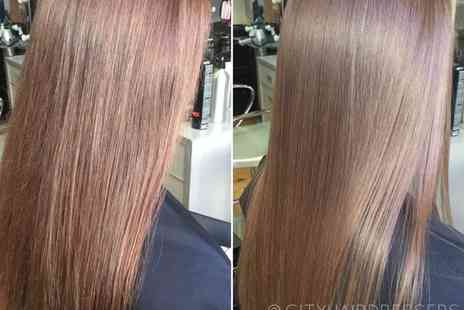 City Hairdressers - Brazilian blow dry - Save 68%