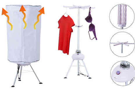 MHSTAR - 900W Portable Electric Clothes Dryer - Save 58%