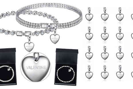 Your Ideal Gift - 3ct Charm Bracelet Choice of 16 Charms - Save 58%