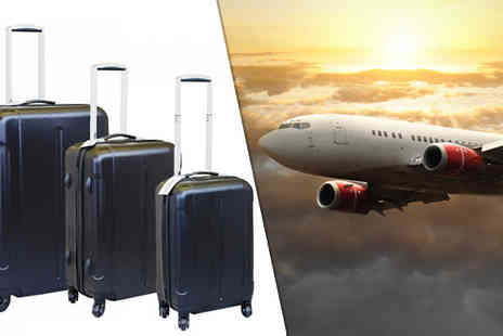Bazaar me - Three Piece Hard Shell Suitcases - Save 70%