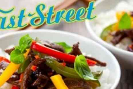 East Street - Three Course East Asian Meal For Four - Save 63%