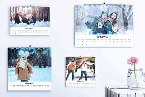 Photo Gifts - Personalised Photo Calendar - Save 85%