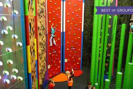 Clip n Climb - Indoor Climbing Session for Child, Adult or Family of up to Four - Save 50%