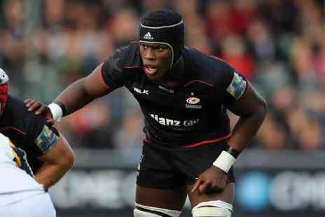 Saracens - Childs ticket or adult ticket to see Saracens vs. Harlequins rugby on 8th April 2017 - Save 0%