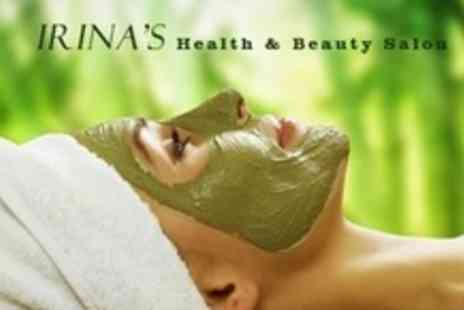 Irina's Beauty Salon - Choice of 45 Minute Facial Plus Indian Head Massage or Eye Masque Treatment For Two - Save 69%