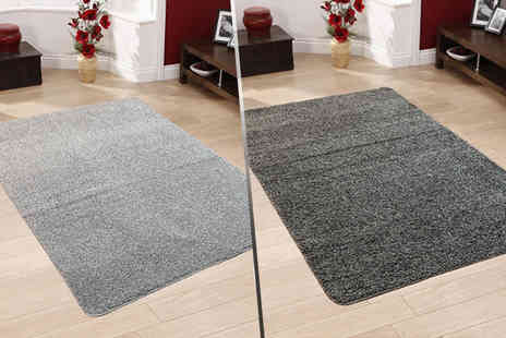 Serdim Rugs - A washable shaggy rug select from six sizes and eight colours - Save 64%