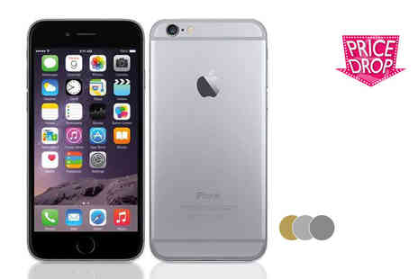 GPSK - Unlocked iPhone 6 with 64GB of memory choose either gold, silver or space grey - Save 0%