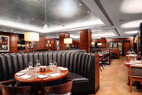 Conrad Hotel - Three Course Dinner and Wine for Two at the 5* Conrad London - Save 0%