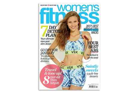 Dennis Publishing - One Year Subscription to Womens Fitness Magazine With Free Delivery - Save 61%