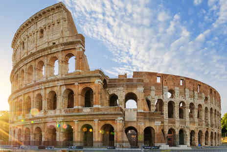 Tour Center - Four or six night 4 Star Rome and Venice trip including flights and train - Save 80%