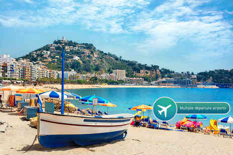 Crystal Travel - Three, five or seven night all inclusive Costa Brava spa with flights - Save 37%