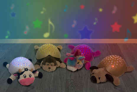 Ckent - Furry friend night light shining as a cow, dog, monkey or unicorn - Save 50%
