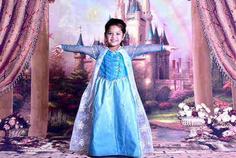 "Joshua L J - Childrens princess photoshoot with two 10"" x 4"" prints - Save 86%"