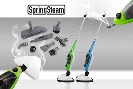 Bright Associate Doctor - 1500W 15 in 1 Steam Mop - Save 80%