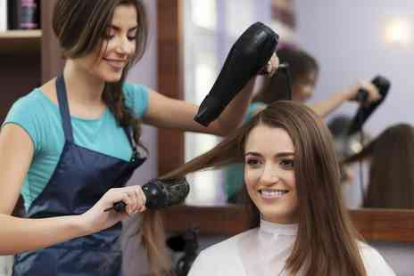 Hair And Nail Concepts - Cut, Blow Dry and Optional Half or Full Head Highlights or Full Head Colour - Save 33%