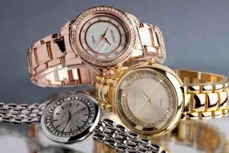 Neverland Sales - Womens Watch Made with Crystals from Swarovski With Free Delivery - Save 74%