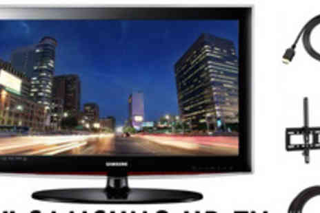 Wholesale Masters - Samsung HDTV and accessory pack - Save 28%