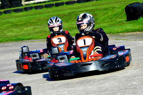 Whilton Mill - One hour of outdoor go karting with up to 30 laps for one - Save 0%