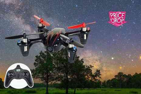 E&F Trading - Quadcopter drone with camera - Save 78%