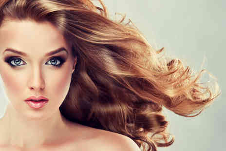 The Clinic - Half head of highlights or full head of colour including a cut and blow dry - Save 68%