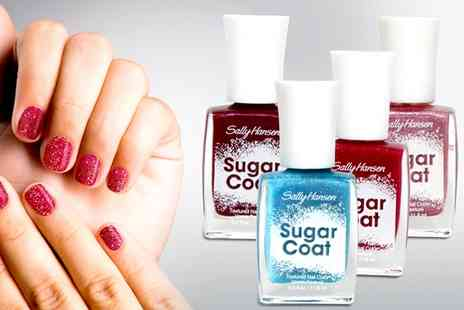 Groupon Goods Global GmbH - 4 Pack Sally Hansen Sugar Coat Nail Polish Sets - Save 68%