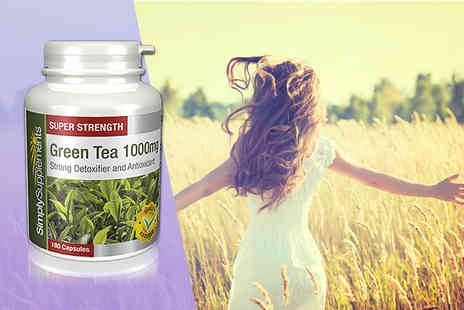 Simply Supplements - Four month supply of green tea extract - Save 39%