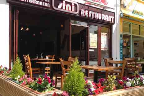 Sini Restaurant - Choice of Meze for Two or Four People - Save 51%