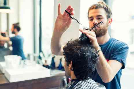 Create a Cut Hair and Beauty - Mens Haircut and Shave with Optional Exfoliation and Facial Treatment - Save 55%